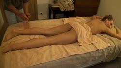 european babe massage sex and creampie
