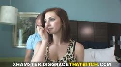 DisgraceThatBitch - What a dumb slut!